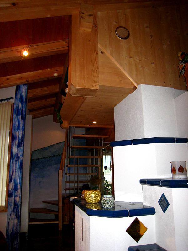 Lufteinlass Wohnzimmer